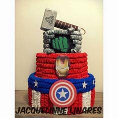 Avengers pinata avengers party avengers party supplies Rocket pinata avengers birthday guardians of the Galaxy pinata