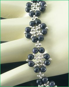 05288 Galvanized Silver Seed Bead and by annsbeadedjewelry on Etsy, $27.00