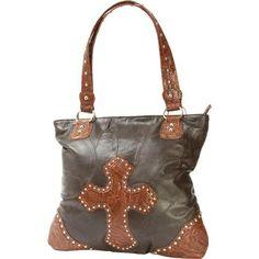Casual Outfitters Italian Stone Design Genuine Leather Cross Purse