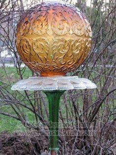 Glass Garden Totems   D&G Gardens