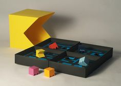 Awesome Packaging Design Reimagines 'Pac-Man' As A Board Game – Henry Aquino