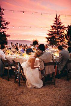 Backyard Ojai Wedding from The Melideos