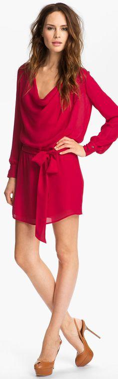 Love the dress! ❤ Haute Hippie | BuyerSelect.com