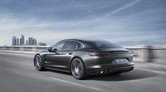 De nieuwe Porsche Panamera,