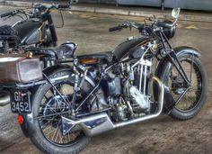 AJS, Vintage Motorcycle.