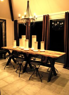 eclectic dining room table | All Rooms / Dining Photos