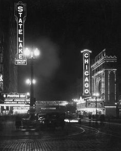 STATE STREET – CHICAGO THEATER 1932