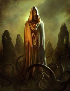 Hastur, el Rey Amarillo by BorjaPindado.deviantart.com on @deviantART