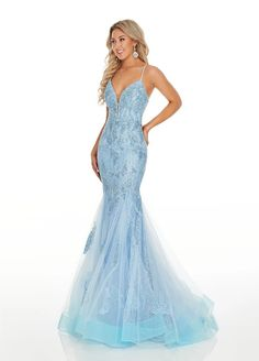 Rachel Allan Prom 7150 Joann's Union City TN, Glamour Belles on Lifetime, Little Girl Pageant, Pageant Gowns, Baby Blue Prom Dresses, Mermaid Style Prom Dresses, Long Mermaid Dress, Pretty Prom Dresses, Blue Lace Prom Dress, Turquoise Prom Dresses, Pagent Dresses, Cute Blue Dresses, Chiffon Dresses