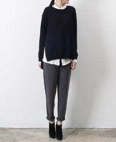 Simple winter dressing