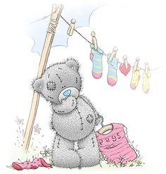 From: Sarah - Tatty Teddy Teddy Images, Teddy Bear Pictures, Cute Images, Cute Pictures, Tatty Teddy, Gifs Cute, Calin Gif, Gifs Disney, Urso Bear