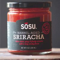Sriracha Aged in Whiskey Barrels by Sosu Sauces | Cool Material