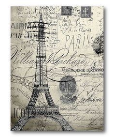 MI BAUL DEL DECOUPAGE: PARIS VINTAGE