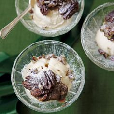 An instant ice cream dessert � and so delicious