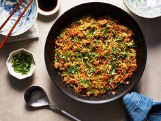 Zucchini Fried Rice Best Zucchini Recipes, Rice Recipes, Vegetable Recipes, Salad Recipes, Cooking Recipes, Pan Cooking, Dinner Recipes, Veggie Meals, Cooking Tips