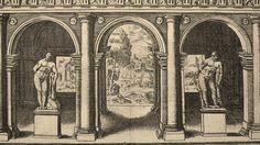 Grabado del Palacio de Farnese