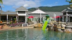 Do: The Novotel Resort at Palm Cove Golf Course where visitors are welcome. Take in a hot-air ballooning trip. Go horse riding along the beach. Enquire http://www.fnqapartments.com/blog/Holiday-Like-the-Rich-and-Famous-Do_158