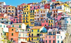 From a technicolour Venetian island to an Andalucian village painted blue for The Smurfs, we take a tour of Europe's most colourful spots