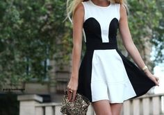 black and white combination is always, but always a winning combination.