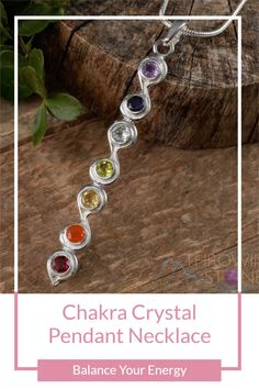 Align with your energy and get your sterling silver chakra crystal pendant. Each stone is unique and beautiful no two stones are exactly the same. Root Chakra Healing, Sacral Chakra, Chakra Symbols, Zen Style, Solar Plexus Chakra, Third Eye Chakra, 7 Chakras, Chakra Crystals, Crown Chakra