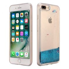 iPhone 7 Plus Floating Liquid Case, ESEEKGO Glitter Case for iphone 7 Plus Soft  #ESeekGo