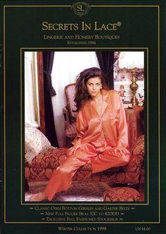 Secrets In Lace Catalog Cover Winter 1998
