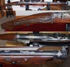 Antique samurai large bore tanegashima (matchlock rifle).