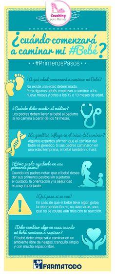 ¿Cuándo comenzará a caminar mi bebé? #Salud #Familia #Bebe #Niños