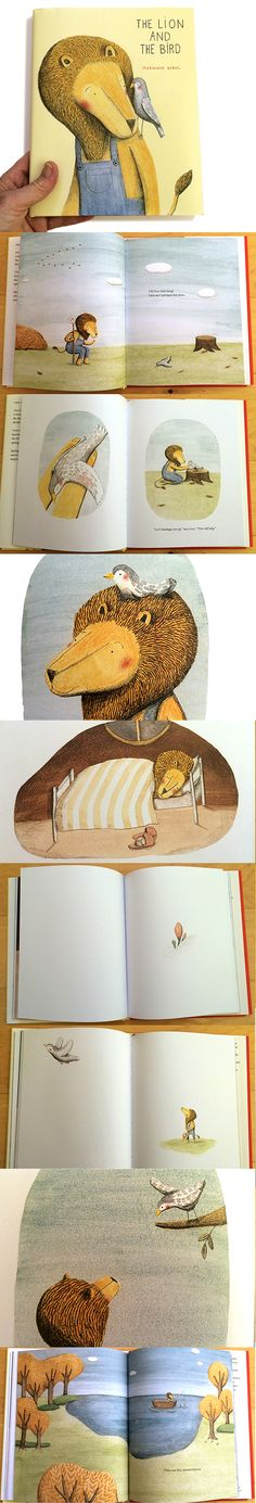 The Lion and the Bird is the kind of book that will endure time and bring hours of thought and conversation about friendship, diversity and seasons. It is simply a beautiful creation—and my pick for this year's Caldecott.