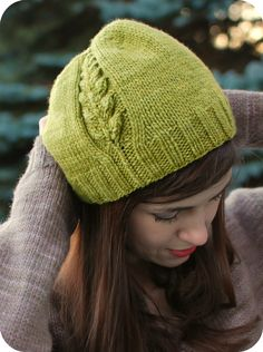 Free pattern for Perennial hat