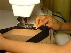 Cours couture vidéo pour apprendre à coudre les élastiques directement sur le tissu. Vous pouvez trouver plus d'information sur cette technique sur http://ww...