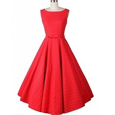 Women's+Vintage+Fashion+A+Line+Sleeveless+Knee-length+Dress+(More+Colors)+–+USD+$+18.99