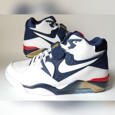newest 693ee 3f24b Nike Shoes   New Nike Air Force 180 Olympics Mens Sz 10.5 White   Color