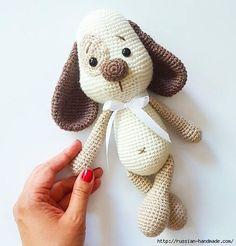Вязаная собачка амигуруми. Описание вязания (7) (521x545, 139Kb)