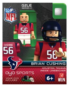 OYO Sports | NFL Generation 2 OYO minifigures | Houston Texans: Brian Cushing