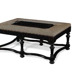 ottoman with built in tray...