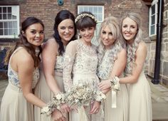 Needle & Thread Wedding Dress | The West Mill Wedding Venue Derby | Rosie Kelly Photography | http://www.rockmywedding.co.uk/amy-nick/