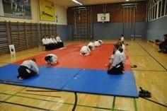 Aikido Kyuprüfung am 11.04.2014 in Linz: Reshigi nach der Aikidoprüfung