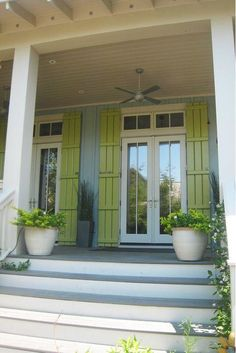 Bright and Colorful Shutters That Add Instant Curb Appeal