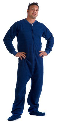 Footed #Pajamas Teddy Bear Adult Hoodie One Piece | Mens Footed ...