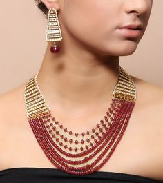 Established in Silvense by Vrindaa has been manufacturing high quality sterling silver jewellery in India. Necklace Set, Beaded Necklace, Diwali Sale, Bangles, Bracelets, Sterling Silver Jewelry, Fashion Accessories, Womens Fashion, Earrings