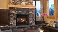 Direct Vent Gas Fireplace | REGENCY BELLAVISTA B41XT LARGE GAS FIREPLACE DIRECT VENT