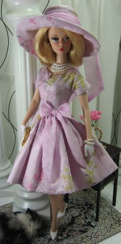 Easter Sunday for Silkstone Barbie on Etsy now