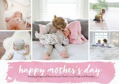 Mother's Day Watercolor Banner