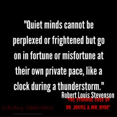 7 Best Jekyll And Hyde Quotations Images Henry Jekyll Hyde Quotes