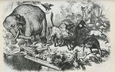 Thomas Nass - Ilustrador Norte-Americano do séc XIX.