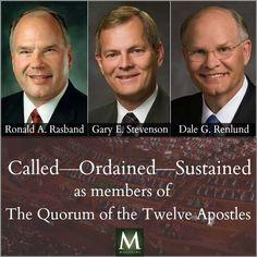 Three new apostles