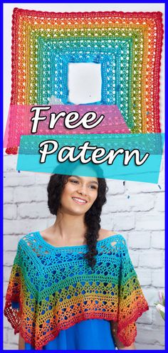 Fire and Ice Poncho Crochet Pattern Free Easy, Poncho, Crochet, Free, Pattern, Free Pattern, Hook, Crafts, DIY, Handmade, Tips, Step by Step, Fashion Crochet, Crochet Woman, Easy, Tutorial Poncho Pattern, Crochet Poncho #crocheting #crochet #crochetpatterns #crochetponcho