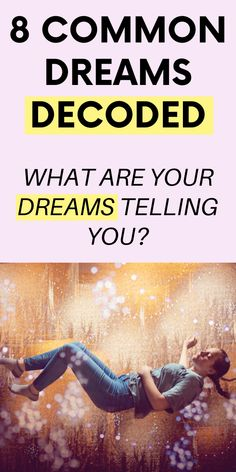 What Are Your Dreams Trying To Tell you? Dream Psychology, Psychology Fun Facts, Lucid Dreaming, Dreaming Of You, Dream Interpretation Symbols, What Dreams Mean, Subconscious Mind Power, Psychic Dreams, Types Of Dreams
