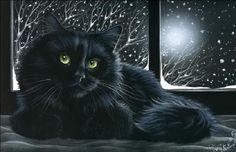 "Irina Garmashova-Cawton | ""Cat in the Window"""